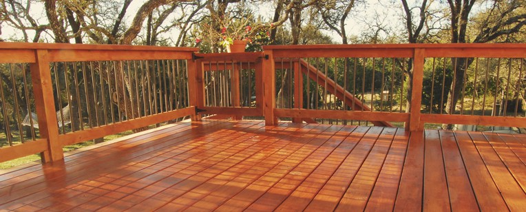 Stained Deck In Oklahoma City